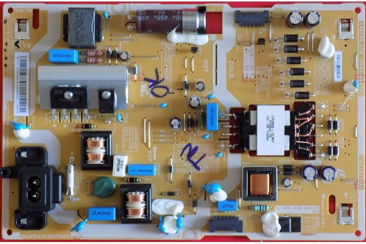 ALIMENTATORE SAMSUNG PSLF141E08C L40E6R KSM REV 1.0 BN44-00875C NUOVO
