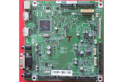 Schede Tuner Ingressi e Interconnessione TV - Main scheda ingressi Sharp B37 KD890 V1070A 25 XD890WJN5 Codice a barre KD890WE25