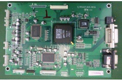 - MAIN VEGAVOX E-RSAG7.820.383A - CODICE A BARRE LCD2602EU