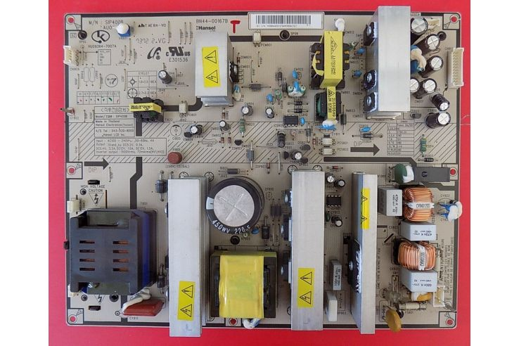 ALIMENTATORE SAMSUNG SIP400B HU09364-7007A BN44-00167B REV 1.1
