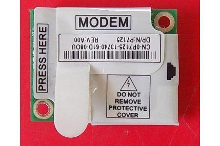 Accessori PC - MODEM DELL RD02-D110 3652B-RD02D110 - CODICE A BARRE CN-0P7125 P7125 REV A00