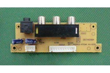 Schede Tuner Ingressi e Interconnessione TV - MODULINO INGRESSI AMSTRAD HERMES - ATENA 05TA098A 308-447R1