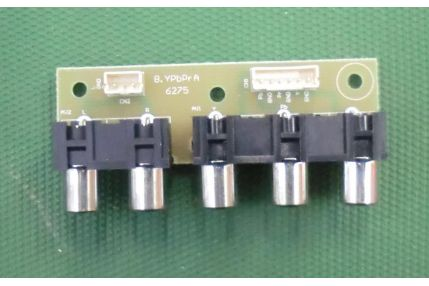 Schede Tuner Ingressi e Interconnessione TV - MODULINO INGRESSI DIKOM KB-6160 MS-1E198407 B.YPbPrA 6275 NUOVO