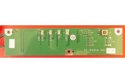 Schede Varie/Espansioni - MODULINO LED PULSANTE ACCENSIONE 71-P5004-001 V1.0 - CODICE A BARRE 0240-2D
