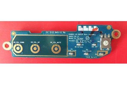 Schede Varie/Espansioni - MODULO ACCENSIONE DELL EAQ00 LS-2631P REV 1A (A00) - CODICE A BARRE 43583931L01 B3