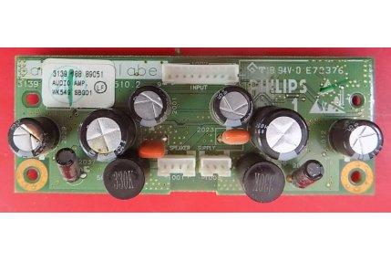 Schede Audio TV - MODULO AUDIO PHILIPS - CODICE A BARRE 3139 188 89051
