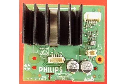 Schede Audio TV - MODULO AUDIO PHILIPS 3139 123 58833 WK511.5 - CODICE A BARRE 64861 61741