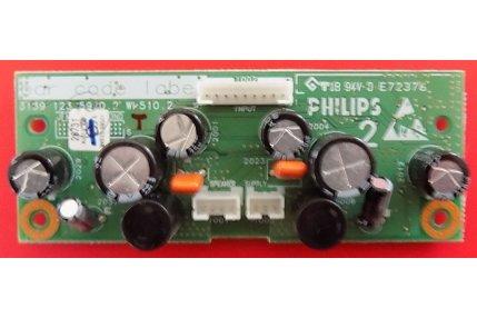 Schede Audio TV - MODULO AUDIO PHILIPS 3139 123 5970.2 WK 510.2 - CODICE A BARRE 3139 267 26731