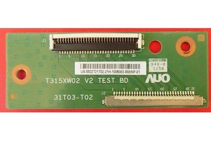 MODULO INTERCONNESSIONE LG T315XW02 V2 31T03-T02 - CODICE A BARRE US-5532T21T02
