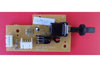 MODULO TELESYSTEM PULSANTE ACCENSIONE BEKO ELEKTRONIK Z9A.192-13 - CODICE A BARRE Z9A17ER 08774
