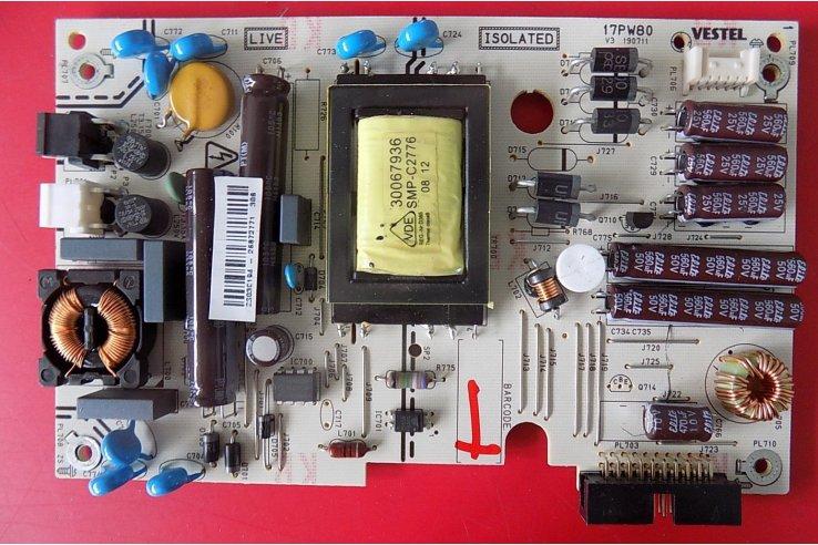 ALIMENTATORE SHARP 17PW80 V3 190711 - CODICE A BARRE 23030194