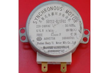 Ricambi Microonde - MOTORE SINCRONO PER MICROONDE 50TYZ-0.1F02 NUOVO