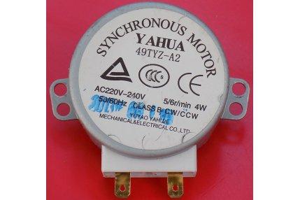 Ricambi Microonde - MOTORE SINCRONO PER MICROONDE YAHUA 49TYZ-A2 NUOVO
