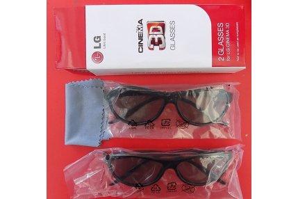 OCCHIALI 3D (X2) LG AG-F310 NUOVI