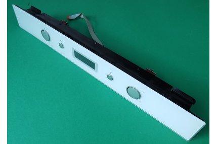 Display-Frontalino - Pannello di controllo per forno Whirlpool: AKZM756/WH Completo di Display Manopole Interruttori - Originale Nuovo