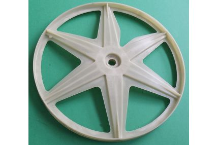 Oblò Lavatrici - Puleggia Plastica D- 278mm Hoover: DXA4 37AH/1-30 - 31006542 Originale Nuova