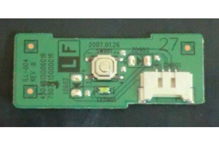 Tastiere TV - PULSANTE ACCENSIONE HP HSTND-2261-F 490481500601R 790771500001R ILL-004 REV B