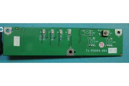 Tastiere TV - PULSANTE ACCENSIONE MODULINO LED THOMSON 71-P5004-001 V1.0 - CODICE A BARRE PC295P4A02022