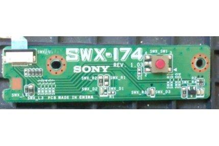 MODULO PULSANTE ACCENSIONE SONY VAIO PCV-E31M SWX-174 REV 1.03 E220370