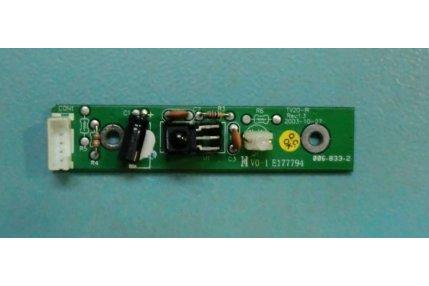 Schede Tuner Ingressi e Interconnessione TV - MODULINO INGRESSI HANNS-G 715G2498-2-K - CODICE A BARRE WHSRDD9H-AH2 V1.0