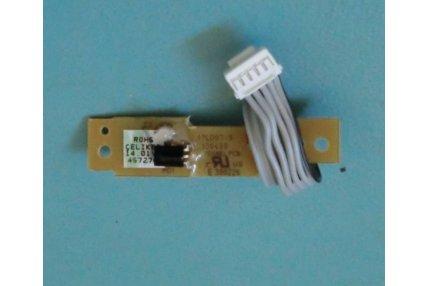 MODULINO INGRESSI TOSHIBA DS-1107 PE0250 P101B V28A00032900 PER TV TOSHIBA 37C3030D