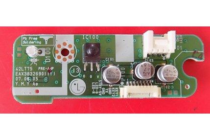 MODULO ACCENSIONE INGRESSI DVD-HR775A-FRONT AV AK41-00915A REV 01 - CODICE A BARRE AK92-01872A