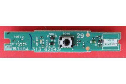 MODULO LED PULSANTE ACCENSIONE SAMSUNG BN41-00555A MP 1.0 - CODICE A BARRE A01882C