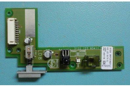 PULSANTE ACCENSIONE MODULINO LED 71-P5004-001 V1.0 PER LCD COMPUTER MODELLO CLEVO L285S MONTATO SU COMEX XF.5ED MOD PLANI