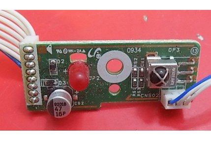 PULSANTE ACCENSIONE SAMSUNG UE5000 BN41-01840B REV 2.8 - CODICE A BARRE BN96-22413C