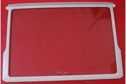 Ripiani e Mensole - Ripiano in vetro con ganci VBE1826 Frigorifero Atlantic ATBGN.2610AP