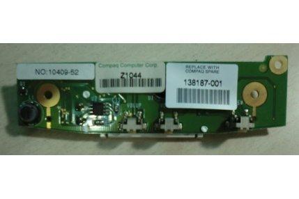 SCHEDA INDICATOR 138187-001 PER COMPAQ SERIES CM2050 MODELLO 18XL481