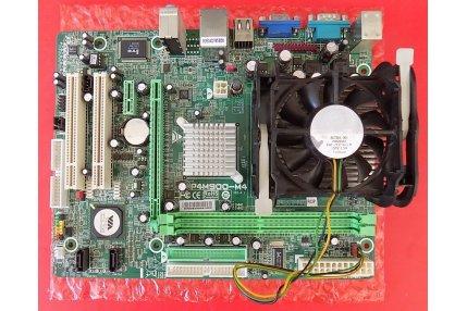 MotherBoard - SCHEDA MADRE INTEL SOCKET P4M900-M4 VER 6.1 JATXPWR1 CON PROCESSORE INTEL A57855-001 2.80GHZ - CODICE A BARRE P4M90M4-03