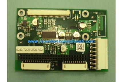 SCHEDA MEDION 6030-7200-6502 CONRAC - CODICE A BARRE 6030-7200-0000 A03