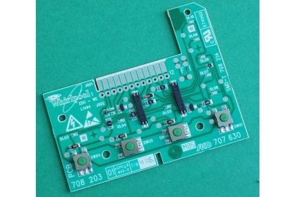 Schede Elettroniche Lavatrici - Scheda pannello comandi 481223958046 461971403791-01 Whirlpool Originale Nuovo