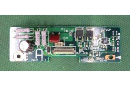 X/Y/Z SUS TV - SCHEDA PIONEER PUMP UP A AWZ6249 GCMK-M1X U6-D5