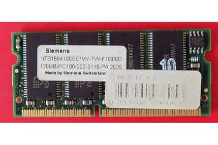 Memorie PC - SCHEDA RAM TOSHIBA SIEMENS NTB1664100G07MV