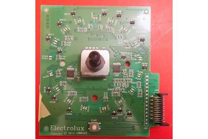 Ricambi per Asciugatrici - SCHEDA SELETTORE PROGRAMMI ELECTROLUX U0042E - CODICE A BARRE EAX12500SD 108677903/A ORIGINALE