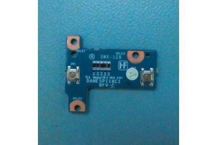 SCHEDA TASTI DANE5PI18C1 REV C SWX-128 REV C PER SONY VAIO NOTEBOOK COMPUTER PCG-9H2M