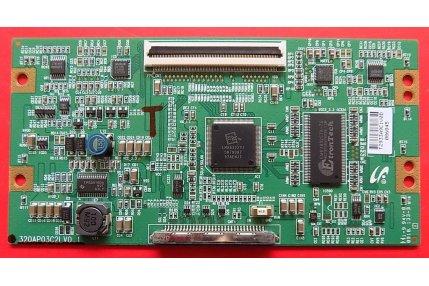 T-CON 320AP03C2L V0.1 - CODICE A BARRE T2933A