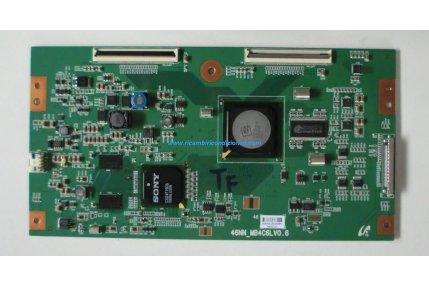 T-CON 46NN_MB4C6LV0.6 - CODICE A BARRE S2642J