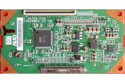 - T-CON IMPERIAL 26T04-C00 T260XW03 V2 - CODICE A BARRE 5526T04009
