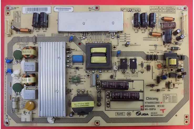 ALIMENTATORE TOSHIBA V71A00022900 N150A001L REV 02 N11-150P1A 9MC150A01FC3V4LF