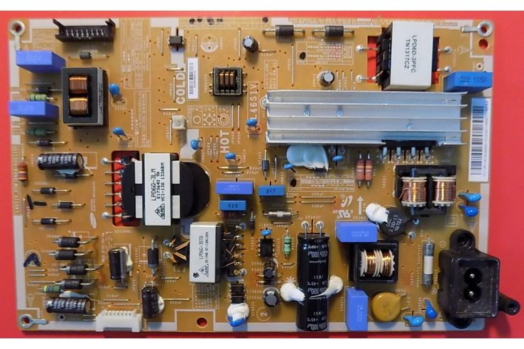 ALIMENTATORE/LED BOARD L46S1V_DSM BN44-00611D REV1.0