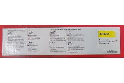 Toner Stampanti - TONER GIALLO HP COMPATIBILE HT-CF352A Y