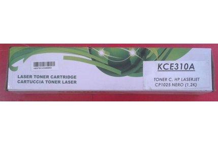 Toner Stampanti - TONER HP NERO KCE310A COMPATIBILE