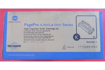 Toner Stampanti - TONER KONICA MINOLTA PAGEPRO 8 1100 1200 SERIES 1710405-002 ORIGINALE