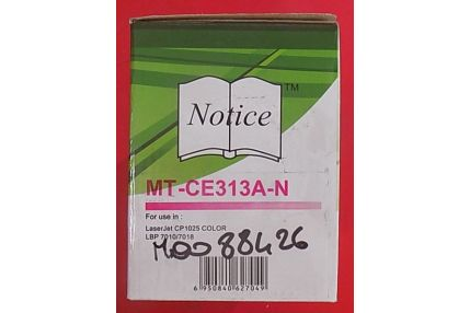 Toner Stampanti - TONER MAGENTA MT-CE313A-N COMPATIBILE CON HP LASERJET CP1025 COLOR LBP 7010 7018