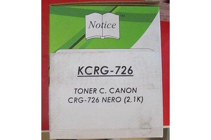 Toner Stampanti - TONER NERO CANON COMPATIBILE KCRG-726