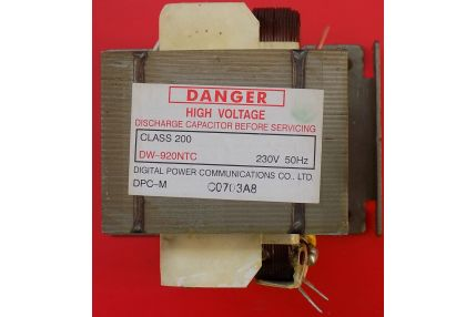 Ricambi Microonde - TRASFORMATORE MICROONDE DW-920NTC NUOVO
