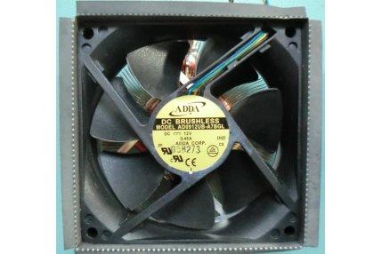 Ventole PC - VENTOLA + DISSIPATORE ADDA AD0912UB-A7BGL PER TV LCD COMPUTER MODELLO L297U CLEVO MONTATO SU COMEX MODELLO PLANIUM XF.7UC PENTI